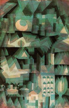 Paul #Klee, Ciudad de Sueños (City of Dreams), 1921. www.bauhaus-movement.com/designer/paul-klee.html