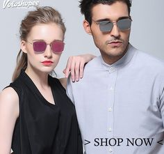 #Buy Cool Stylish #Men & #Women 3Sunglasses #upto70%Off . Top #Brands Avaliable at #factoryoutlet price. Now get 10% Instant #cashback on every #order only on #voloshopee. Check our #exclusivecollection