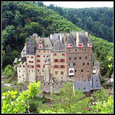 Fairytale Castle - Burg Eltz ---Burg Eltz, Rhineland-Palatinate, Germany --- By Batikart