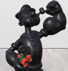 #JeffKoons Granite #Popeye sculpture at the center of billionaire #art world lawsuit.