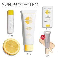 Beautycounter sun protection. shop www.beautycounter.com/suziebaumgartner