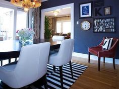New Navy Blue Dining Room Ideas