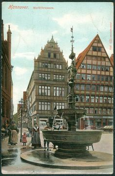 Hannover um 1900;