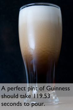 Perfect Pint of Guinness.. dear lord that's beautiful...