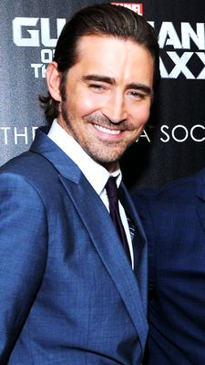 """Lee Pace attends The Cinema Society with Men's Fitness and FIJI Water special screening of Marvel's """"Guardians of the Galaxy"""" at Crosby Street Hotel on July 29, 2014 in New York City. Fan edit."""