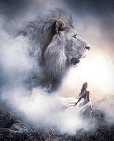 What is your favorite animal? Lion 💕 Photos by Lion Pictures, Jesus Pictures, Pictures Images, Christian Warrior, Christian Art, Art Prophétique, Lion Of Judah Jesus, Animals Beautiful, Cute Animals