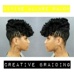 Is your Natural Hair Black oriented, Soft or hard textured? Looking for ways you can add creativity to it to achieve sound then come on down to Divine Allure Salon.  11812 MiddleGround Road Unit 100 Savannah, Georgia 31419 or call the salon and speak with someone able scheduling an appointment TODAY !!! Call (912)349-6604 or visit our website at www.divinealluresalon.com  #divinealluresalon #creativebraiding #naturalblackoriented #crotchetbraids #braids #curls