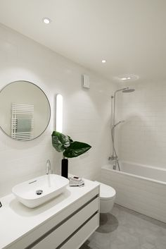 A view at the second bathroom we designed from our completed Lili & Lola Project in Geneva Switzerland