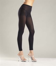 c2578c770d85b Sexy Be Wicked Black Opaque Leggings Footless Tights Footless Tights,  Fishnet Stockings, Hosiery,