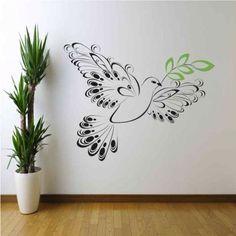 22 Fantastiche Immagini Su Disegni Per Pareti Idee Stencil Da