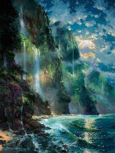 Фантастические пейзажи Джеймса Коулмана. | Оригинальное творчество талантливых и увлеченных людей