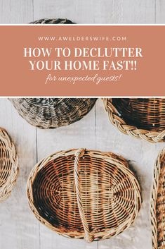 How to Declutter your Home FAST
