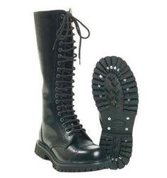 Stiefel 20-Loch Invader  #invader #boots #stiefel #schwarzestiefel / mehr Infos auf: www.Guntia-Militaria-Shop.de