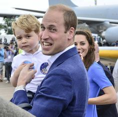 "#NEWS The Duke & Duchess of Cambridge visited the SAS camp at Credenhill earlier today along with Prince George. #Hereford."" — @YourHereford1.  Hopefully we will see pics later this week maybe for Prince George's 3rd Birthday"