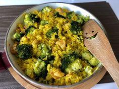 Kremowe risotto z kurczakiem i brokułem - Blog z apetytem