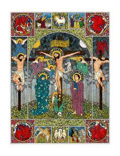 Crucifixion, Daniel Mitsui