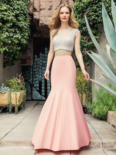 7a041b7450e Popular Pastel Mermaid Two-piece Val Stefani Prom Dress style 3266RB
