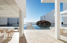 Hotel flotante en México, Mar Adentro en Sano Jose del Cabo, Baja California.