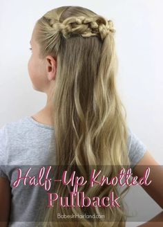 It's totally knot difficult. Learn the steps at Babes in Hairland.