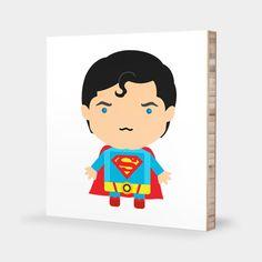 スーパーマン - マーベルコミック壁掛けアートパネル by Wayne and Maibelle