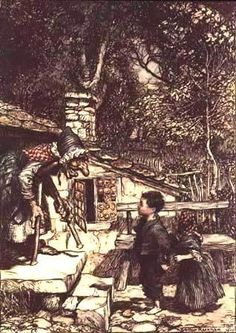 Hansel and Gretel. The Fairy Tales of the Brothers Grimm. London: Constable & Company Ltd,