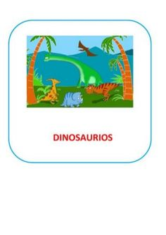 Proyecto completo dinosaurios. programación, fichas, recursos,pdf Prehistory, Diy, Dinosaurs, Frases, Dinosaurs Preschool, Dinosaur Activities, Bible Stories For Children, Elementary Schools, Children