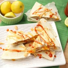 Made with SeaPak Popcorn Shrimp, Firecracker Shrimp Quesadillas will heat up any meal or snack! Made with SeaPak Popcorn Shrimp, Firecracker Shrimp Quesadillas will heat up any meal or snack! Mexican Shrimp Recipes, Best Shrimp Recipes, Seafood Recipes, Best Quesadilla Recipe, Shrimp Quesadilla, Quesadilla Maker Recipes, Quesadillas, The Pioneer Woman, Andrew Zimmern