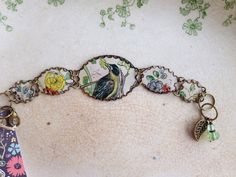 Tin Jewerly Bracelet Precious Bird Tin for the Ten by TheMadCutter, $46.00