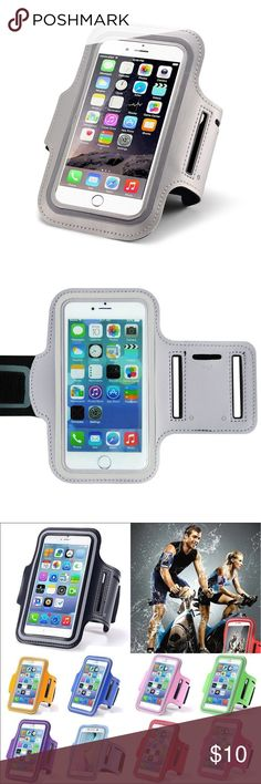 iPhone 7+/6+ Universal waterproof sport armband iPhone 7+/6+ Universal waterproof sport armband Stylish and convenient Universal Professional Sports Armband for running, fitness, cycling and all sports activities compatible for Apple iPhone 7 Plus, 6 Plus and 6s Plus, 5.5 inch.  Waterproof, sweat-proof and high quality.  Fast shipping  Silver Accessories