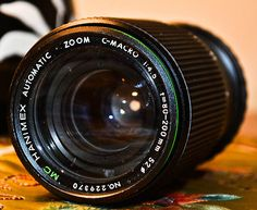 I have for sale a Hanimex Automatic Zoom C-Macro F/4.5 f=80-200mm MC Lens #229370. This lens is in a good condition, needs a clean and comes as seen in the picture. It has a Pentax, M42 Fit.