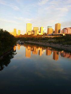 Down town Edmonton Alberta -