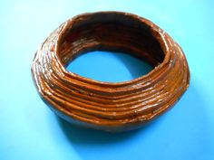 Picture of recycled paper bracelet