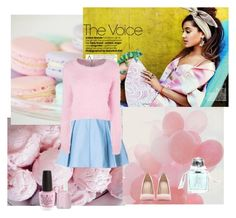 Pastel by lj-case on Polyvore featuring polyvore, fashion, style, Zara, Aromachology, OPI, Essie, Sebastian Professional, GE and clothing