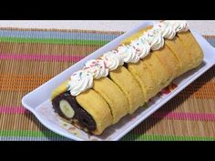 Prajitura in 5 minute cu piscoturi insiropate No Cook Desserts, Food Cakes, Hot Dog Buns, Cake Recipes, Rolls, Tasty, Make It Yourself, Cooking, Facebook