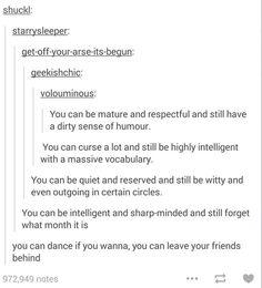 You can dance.. hahaha