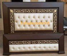 Untitled Modern Bedroom Furniture Sets, Royal Furniture, Modern Bedroom Design, New Bed Designs, Double Bed Designs, Bedroom False Ceiling Design, Bedroom Closet Design, Steel Bed Design, Dressing Table Design