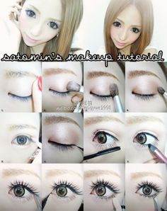 Make up for gyaru! ;3