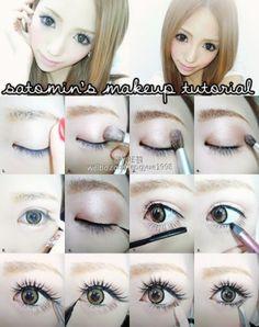 Make up for gyaru! ;3