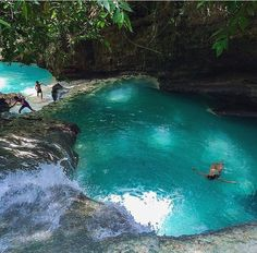 Natural emerald pool in Cebu, Philippines From IG's #visitplaces