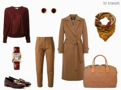 Four Pack: Camel and Burgundy