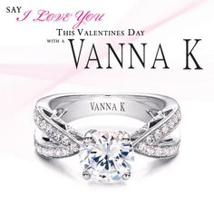 I Love Diamonds! #valentines #diamonds #ring #wedding #engagement    JH Faske Jewelers  (979) 836-9282