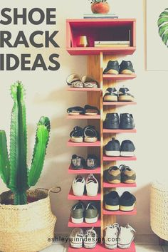 47 Awesome Shoe Rack Ideas in 2020 (Concepts for Storing Your Shoes) Well-organized shoe racks help you grab them fast while needed. It is not that hard to keep them we Shoe Storage, Shoe Racks, Storage Ideas, Commercial Vacuum, Shoe Organizer, Shoe Collection, Your Shoes, Awesome, Cupboard Design