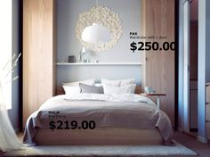 Bedroom idea from http://www.ikea.com/ca/en/