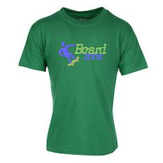 Get up and go with your logo in this custom tee!