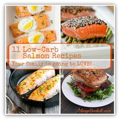 11 Low-Carb Salmon Recipes to Drool Over! Did you check these out? OMG I love just scrolling the wall, drooling over the pictures of these wonderful salmon recipes! The best part? The actual finished dinners taste just as good as they look!