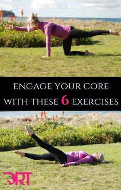6 exercises to help you engage your core and improve your riding posture