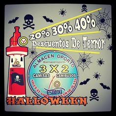 Descuentos de terror @almacenoporto #3X2_Camisas_Camibusos_BuenaMar  #HalloWeen #HalloWeen2014 #MensWearFashion #MensStore #Colombia