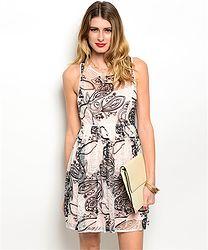 Lola Dress $34 www.eloraboutique.com