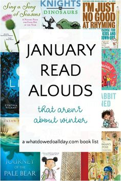 The best children's books to read aloud in January. Good books for classroom reading, family read alouds and independent reading. This curated list contains picture books, nonfiction, poetry and chapter books for all ages. Kindergarten Books, Preschool Books, Book Activities, Kindergarten Readiness, Best Children Books, Childrens Books, Toddler Books, Library Books, Reading Books