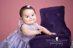 Jeneanne Ericsson Photography » »purple chair